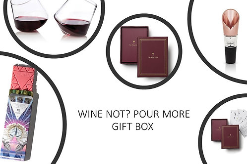 Wine Not? Pour More Gift Box