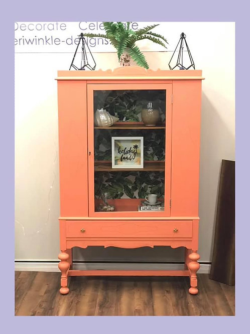 Tropical Staycation Cabinet
