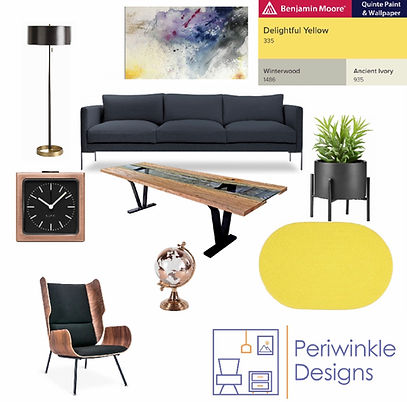 Mood Board by Periwinkle Designs