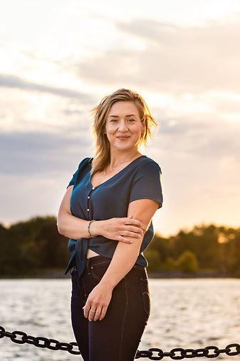 Laura Geerkens- Owner of Periwinkle Designs