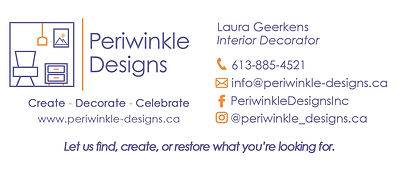 Periwinkle Designs Contact