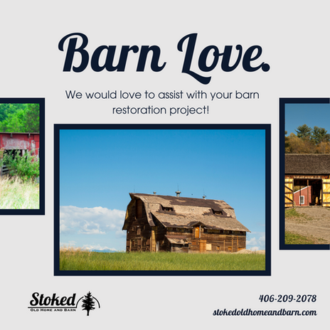 Stoked Old Home and Barn