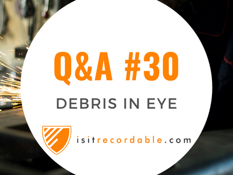 Q30 - Debris in Eye