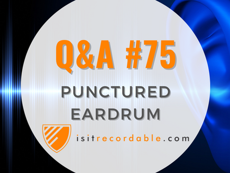 Q75 - Punctured Ear Drum