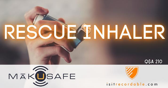 Rescue Inhaler