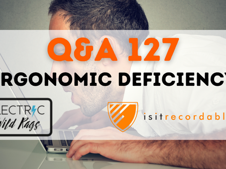 Q127 - Ergonomic Deficiency