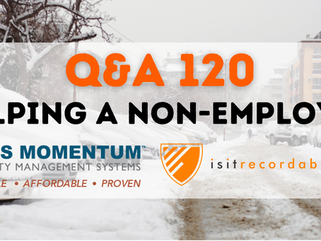 Q120 - Helping a Non-Employee