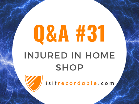 Q31 - Injured Welding at Home (Work-Related)