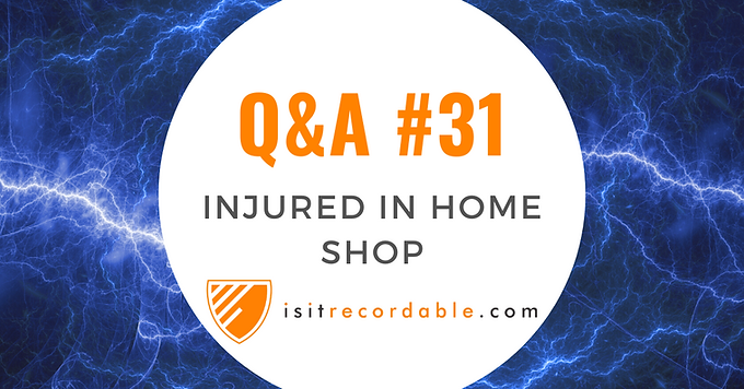 Injured in Home Shop