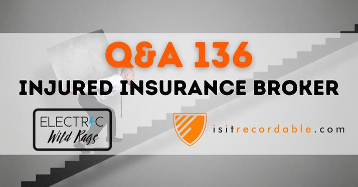 Injured Insurance Broker
