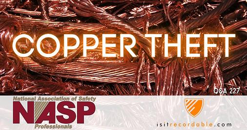 Copper Theft