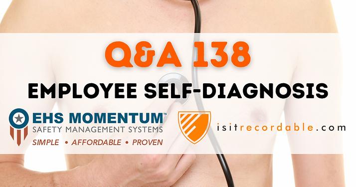 Employee Self-Diagnosis