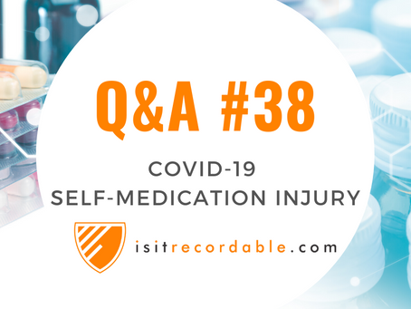 Q38 - Self-Medication Injury (COVID-19)