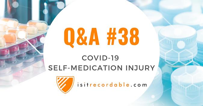 Self-Medication Injury (COVID-19)