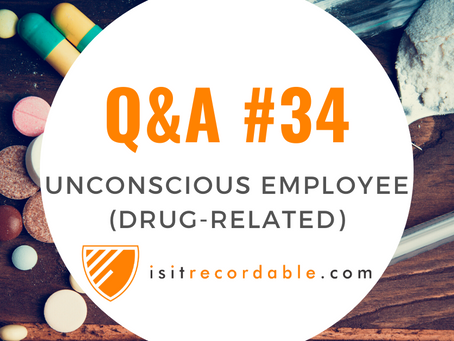 Q34 - Loss of Consciousness Due to Drug Usage