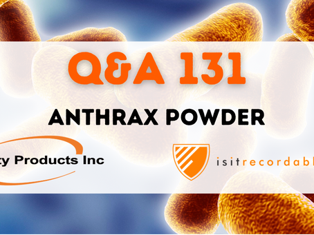 Q131 - Anthrax Powder
