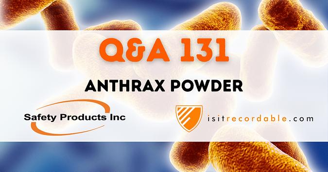 Anthrax Powder