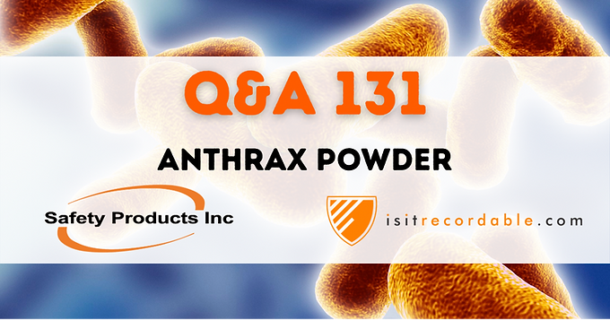 Anthrax Powder
