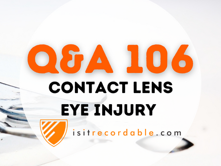 Q106 - Contact Lens Eye Injury