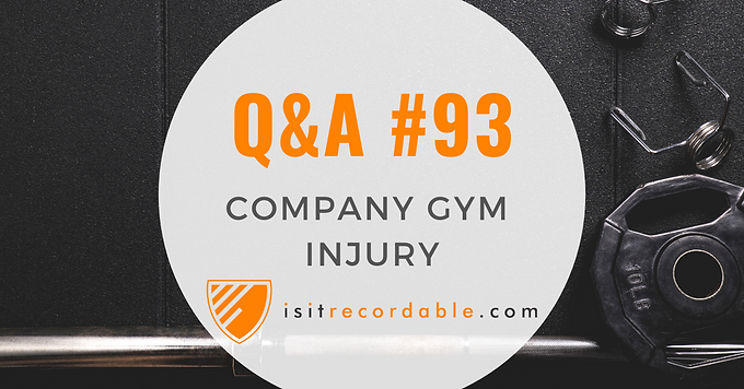 Company Gym Injury