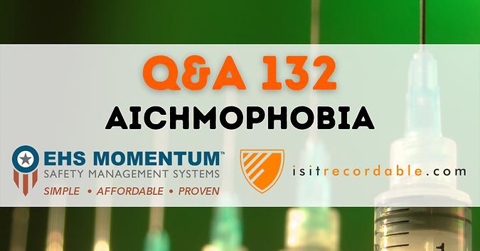 Aichmophobia
