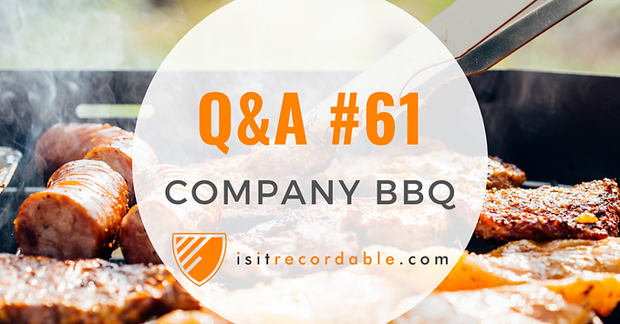 Company BBQ Cookout