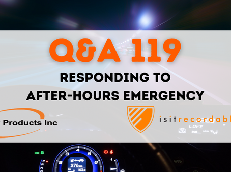 Q119 - Responding to After-Hours Emergency