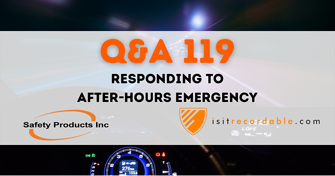 Responding to After-Hours Emergency