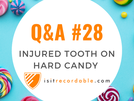Q28 - Injures Tooth on Hard Candy