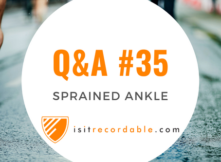 Q35 - Sprained Ankle