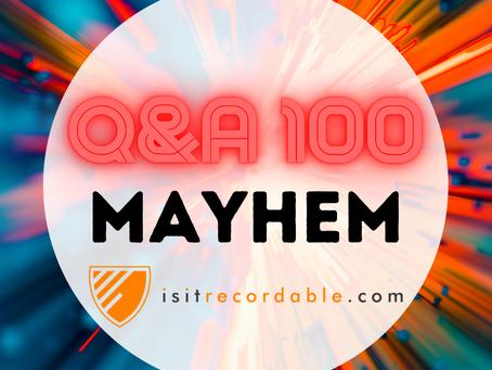 Q100 - MAYHEM