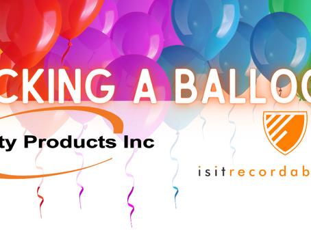 Q164 - Kicking a Balloon