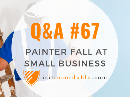 Q67 - Painter Fall (at a small business)