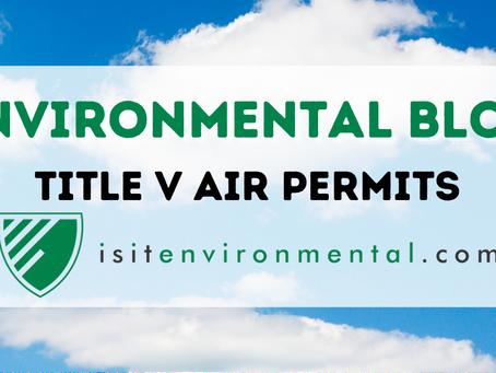 Title V Air Permits