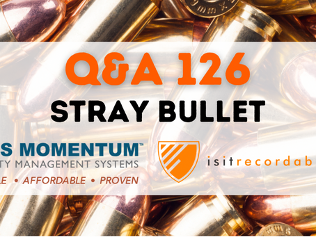 Q126 - Stray Bullet