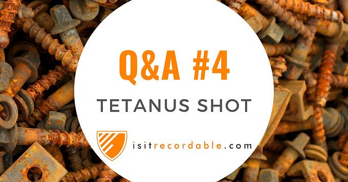 Tetanus Shot