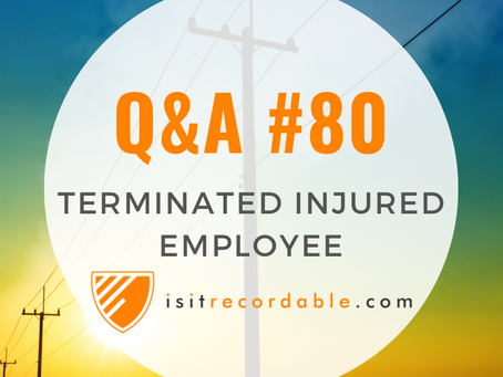 Q80 - Terminated Injured Employee