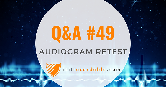 Audiogram Retest