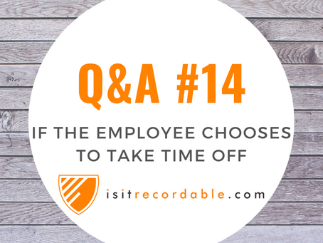 Q14 - Doctor Clears Employee but Employee Takes Time Off