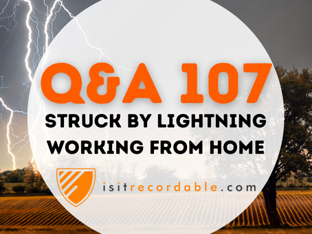 Q107 - Struck by Lightning Working From Home