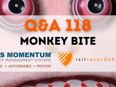 Q118 - Monkey Bite
