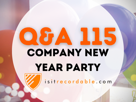 Q115 - Company New Year Party