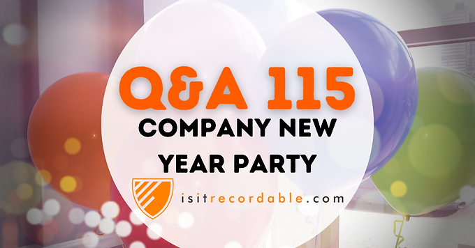 Company New Year Party