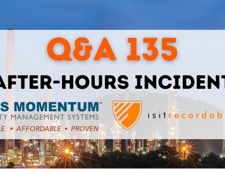 Q135 - After-Hours Incident