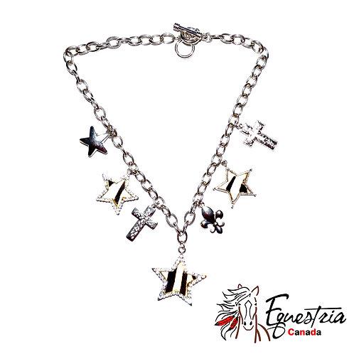 Collier avec boucles d'oreilles / Necklace with earrings (01011)