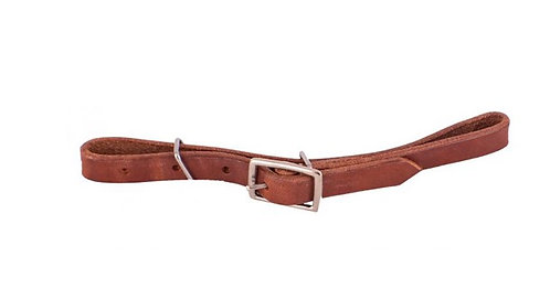 Leather curb strap (5093)