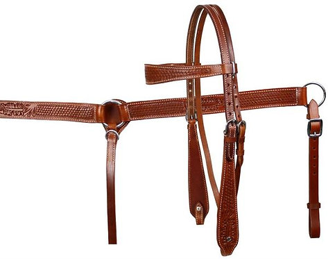 Headstall and breastcollar (611)