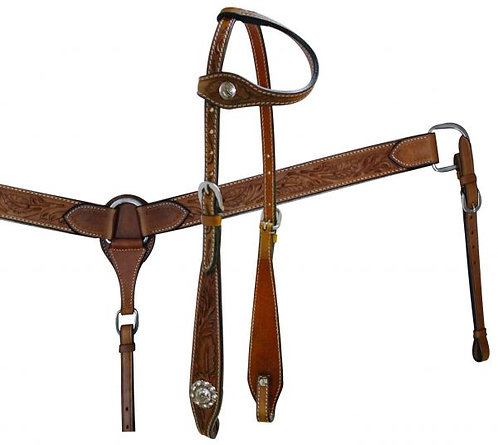 Headstall and breastcollar set (7148)