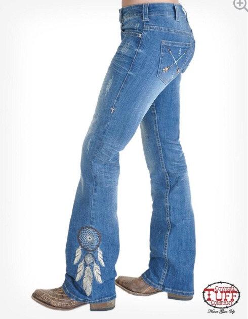 Cowgirl Tuff Jeans (Catchin' the dream)