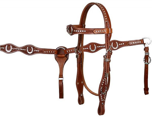 Headstall and breastcollar set (7184)